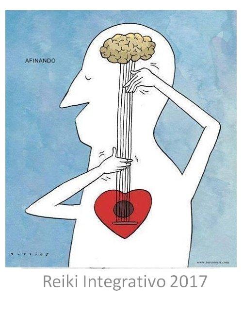 señor afinando un guitarra cerebro/ corazón