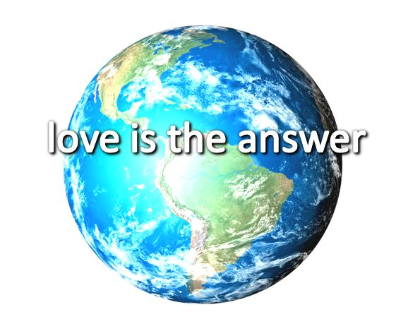 00 LOVE IS THE ANSWER